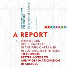 A report on policies and good practices in the public arts and in cultural institutions